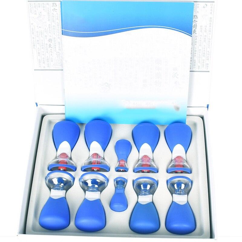Medicina china, ventosas al vacío para aliviar la fatiga, herramientas de cuidado de salud, curación de acupuntura por dolor, relajación, disipador, instrumento húmedo