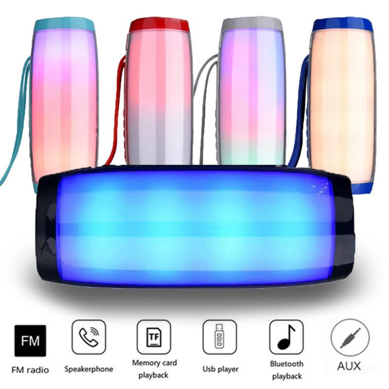 Stereo bass column wireless bluetooth speaker portable outdoor waterproof MP3 music player speaker bluetooth  speakers enlarge