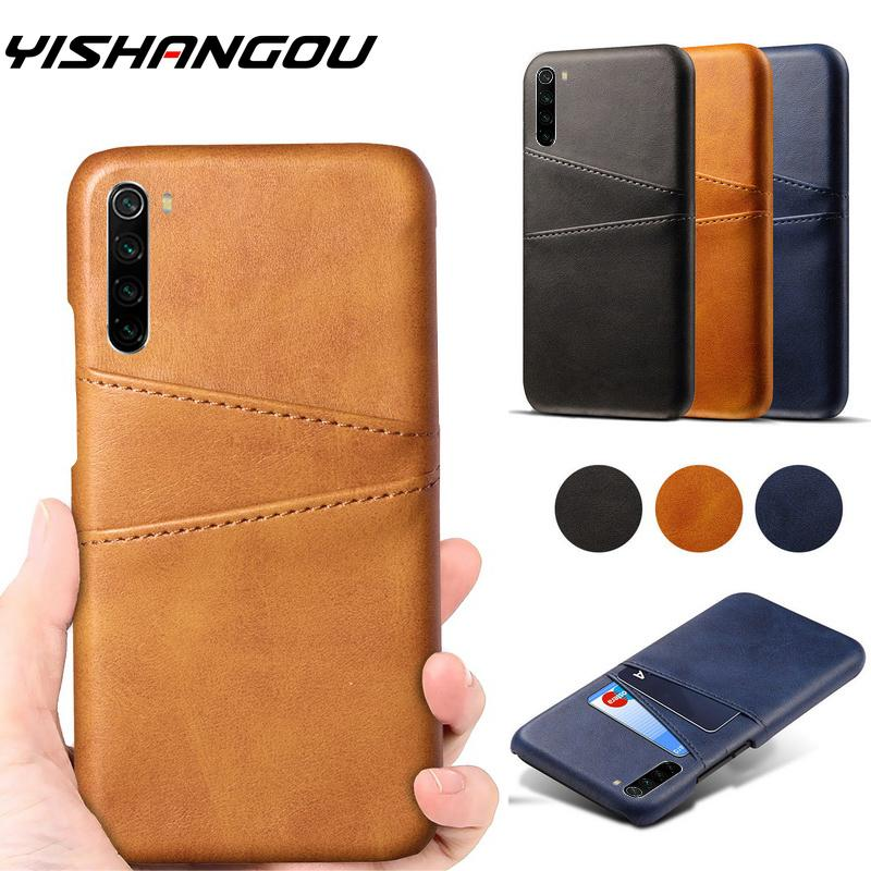 Leather Case For Xiaomi Redmi Note 8 7 Pro K20 Pro Genuine Leather Card Slot Wallet Case Cover For Xiaomi Redmi Note 8 7 K20 Pro