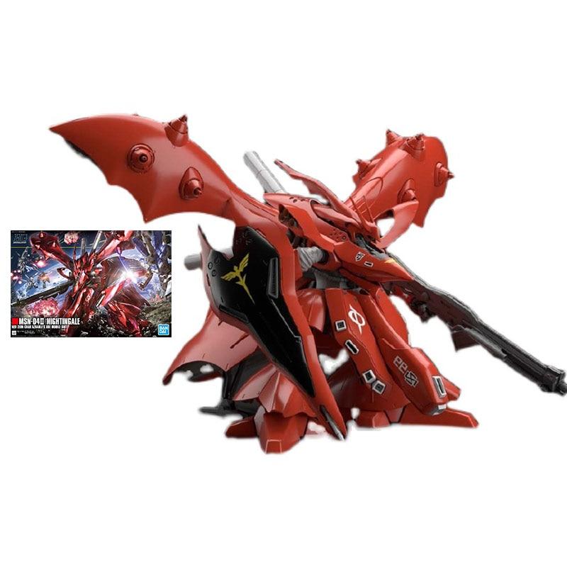 Набор моделей Bandai Gundam, аниме фигурка HGUC 1/144, ранняя модель, Подлинная модель Gunpla, экшн-фигурка, игрушки для детей