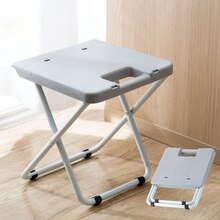 Multifunctional folding comfortable stool for household indoorand outdoor use space-saving plastic Shower chair is easy to store