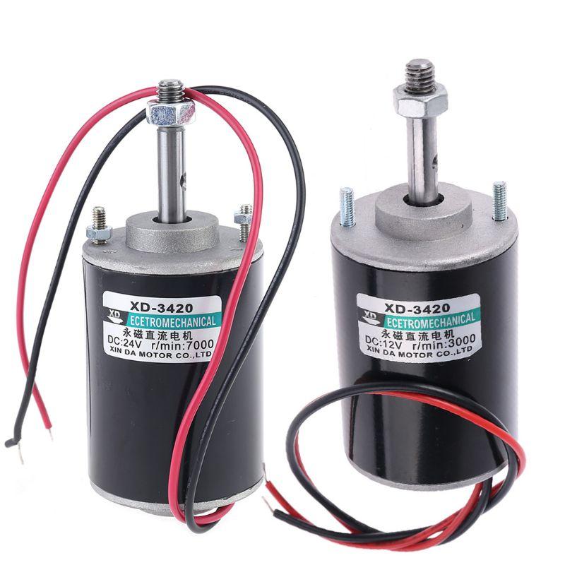 12 24v 30w permanente ima eletrico dc motor de alta velocidade cw ccw para diy gerador f2tb