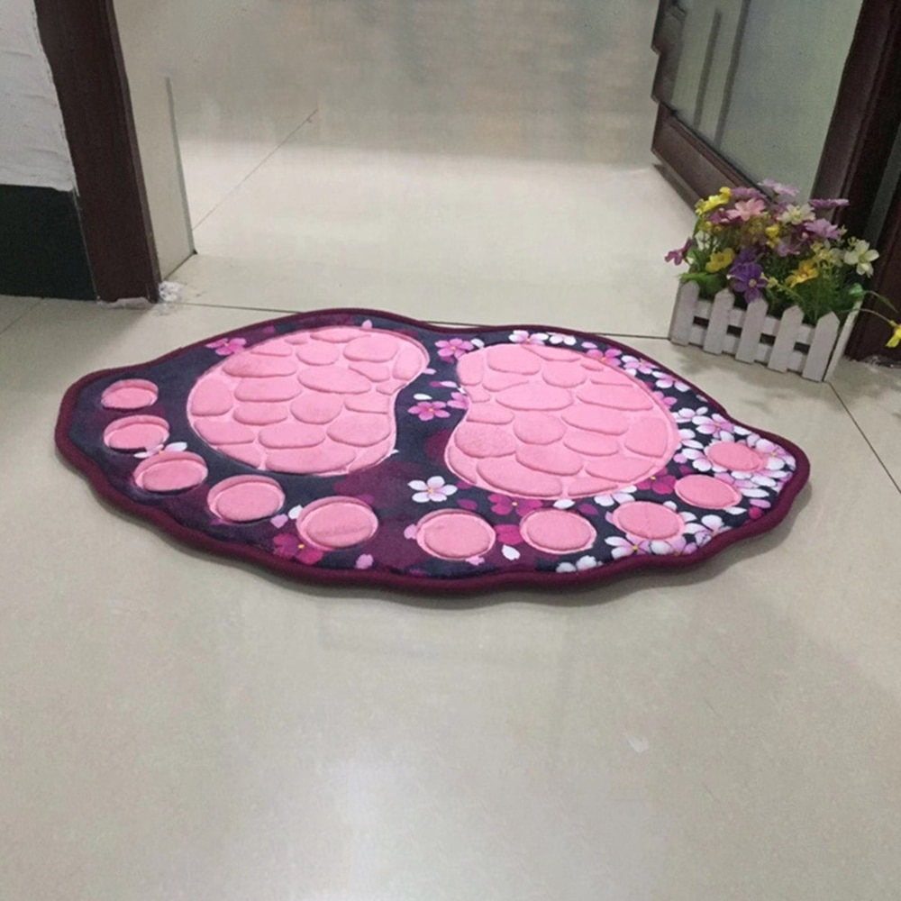 Grand tapis de toilette de bain 40*60CM   Tapis de salle de bain, tapis de toilette, tapis de sol, tapis absorbant, vente en gros