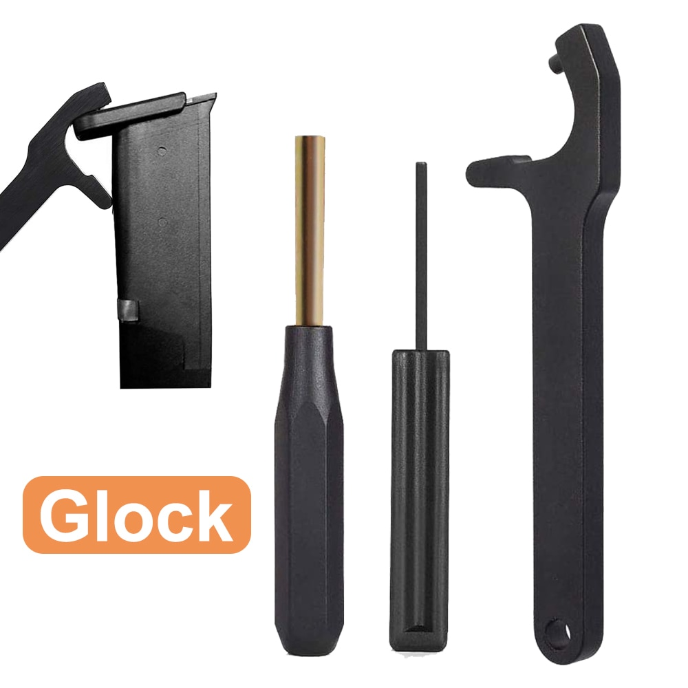 Glock Magazine Disassembly Tool Mag Plate Removal Tool Front Sight Tool for Glock 17 19 22 25 26 27 28 42 43 43X 48