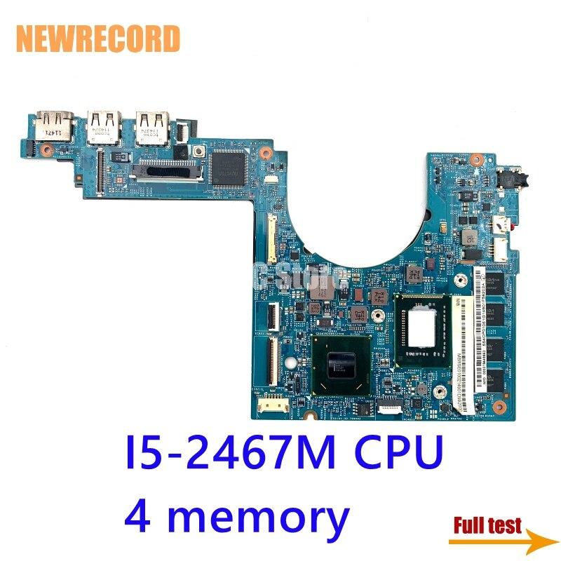 NEWRECORD MBRSE01002 48.4QP01.021 لشركة أيسر أسباير S3-951 اللوحة المحمول UM67 4GB الذاكرة SR0D6 I5-2467M CPU اللوحة الرئيسية