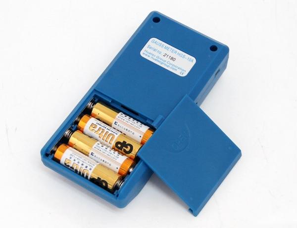 HGS-10A LCD display Portable Digital Magnetic induction Intensity Tesla Meter enlarge