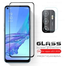 glass for oppo a53 a53s a 53 53s screen camera lens protector on oppoa53 oppoa53s 2020 6.5'' protect