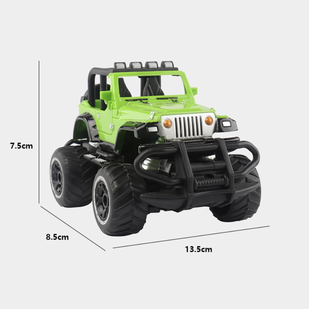 1:43 Mini Four-way Remote Control Car Off-road Rc Car Crawler Climbing Vehicle with Light Buggy Toy Gifts for Kids Boy enlarge