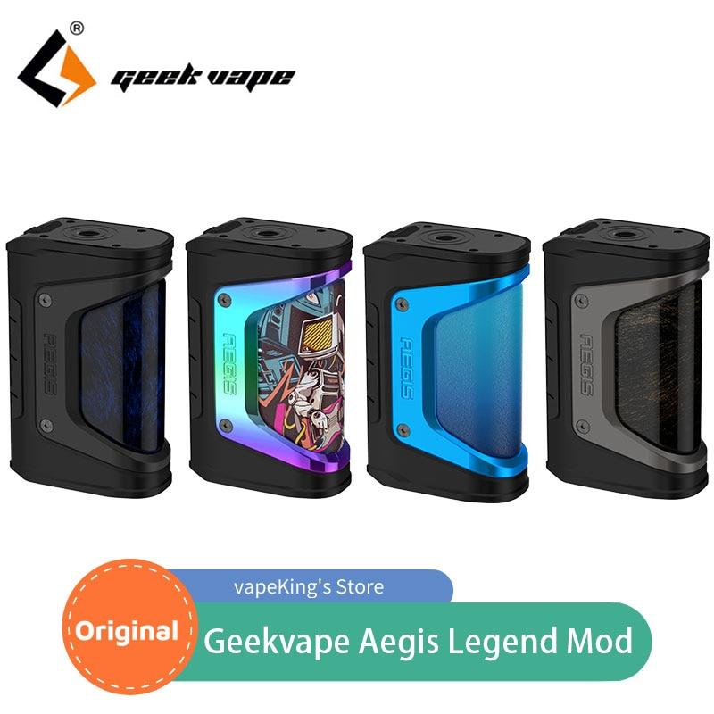 Original Geekvape Aegis Legend TC Box Mod 200W VW/ VPC/TC/TCR/BYPASS Mode Electronic Cigarette Vape
