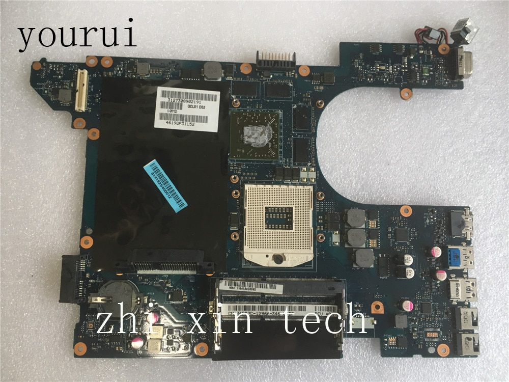 Yourui para Dell Inspiron 7520 placa base de computadora portátil CN-04P57C 04P57C 4P57 CQCL00 LA-8241P DDR3 prueba ok