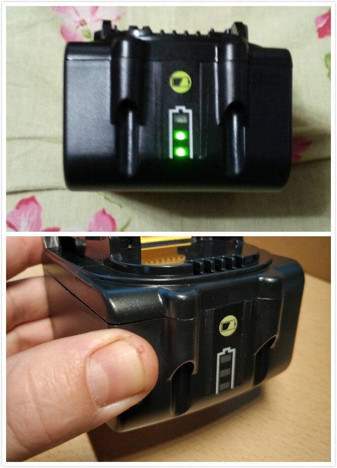 La batería más barata de 2000mah 3000mah tipo LED para Makita 18V herramienta eléctrica batería BL1815 BL1830 BL1835 LXT400 bl1840 bl1850 bl1860
