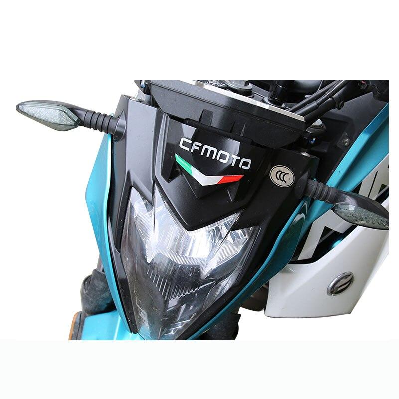 Decalques da motocicleta frente carenagem adesivos 3d itália adesivo decalques para cfmoto 250nk 400nk 650nk 150nk