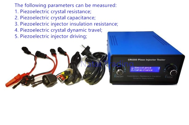 Для Siemens piezo тестер инжектора CRI250 дизель common rail VDO пьезоэлектрический инжектор AHE динамический подъемник дорожный измерительный инструмент