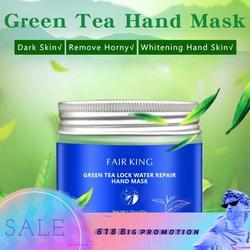 Clareamento anti-rugas máscara de mão cuidados com a pele bloqueio de reparação de água calos cuidados com a mão hidratante esfoliante creme de mão