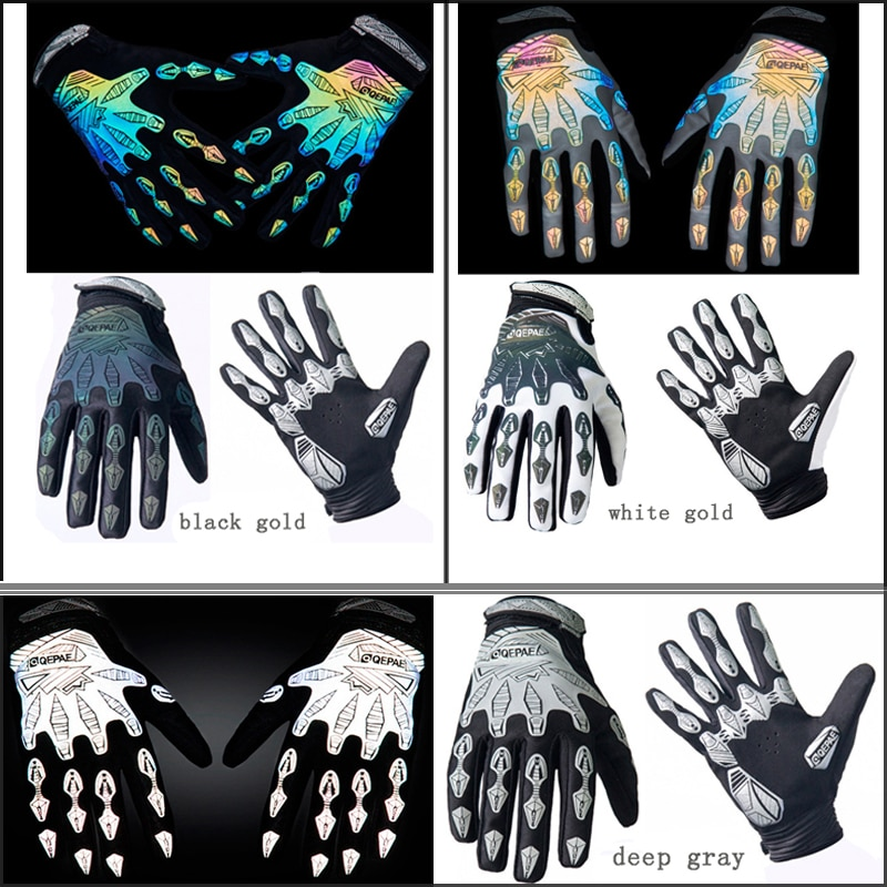 Qepae Full Finger Motorcycle Cycling Gloves Screen Touch Guantes Moto Racing/Skiing/Climbing/Riding Sport Motocross Gear