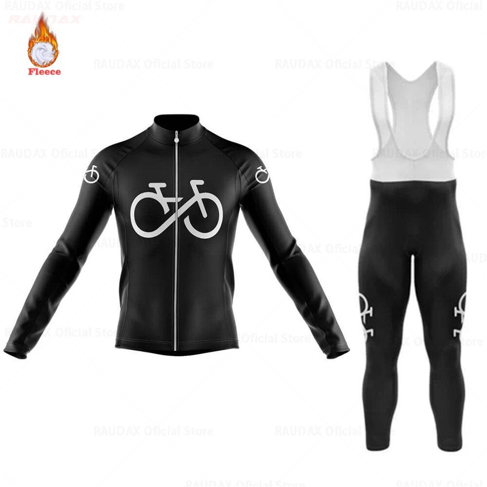 Northwaveful-ropa térmica de lana para ciclismo para hombre, traje de Jersey de...