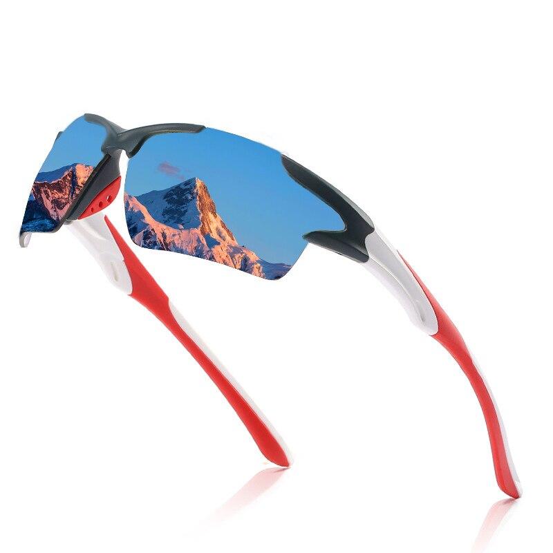 Новинка роскошные солнцезащитные очки поляризационные мужские очки для рыбалки спортивные очки для вождения мужские женские мужские винт...
