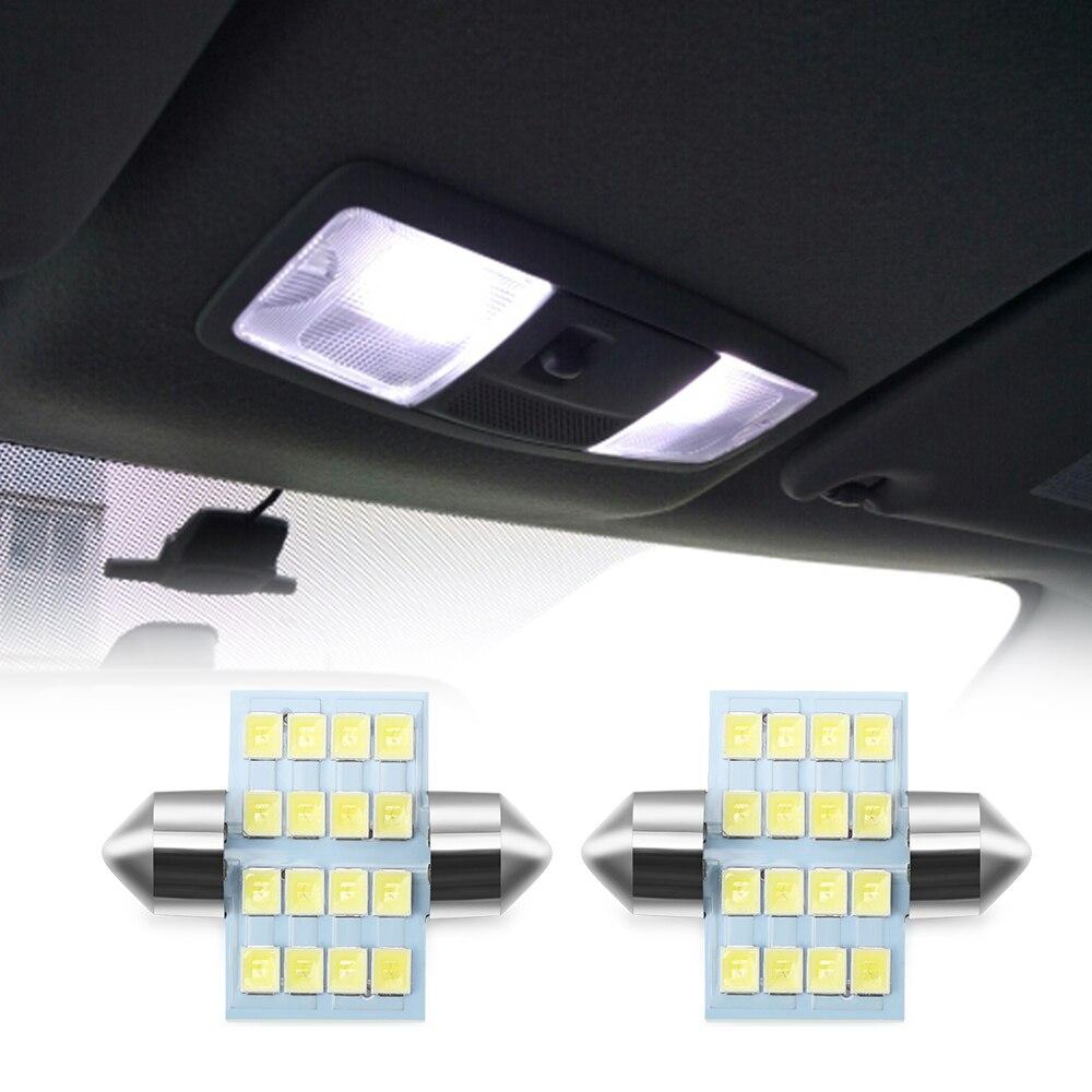 LED Car License plate Interior Reading Light for Mitsubishi ASX Lancer Outlander Pajero V73