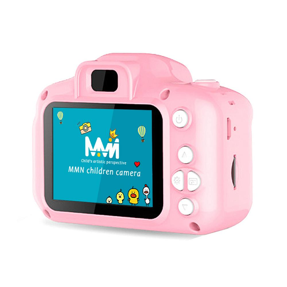 x2 Toy Children Motion Camera Kids Camera 2 Inch Screen Hd Children Camera Cartoon Digital Mini Vide
