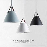 Modern Nordic Minimalist Creative Hanging Lights Bar Lighting Living Room Lamps Dining Room Fixtures Restaurant Pendant Lights