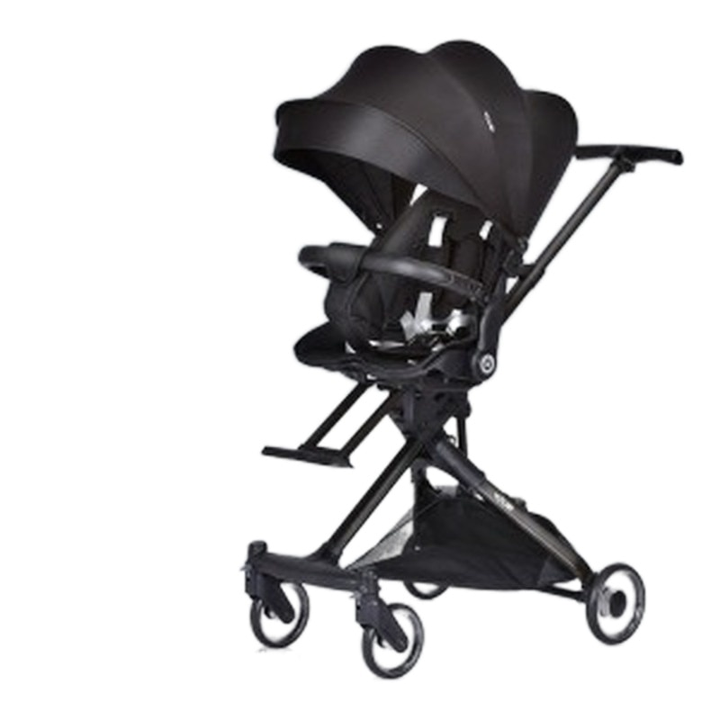 LazyChild Ultra-light Folding Baby Stroller Sit And Lie Down High Landscape Two-way Baby Walking Baby Cart 2021 Dropshipping enlarge