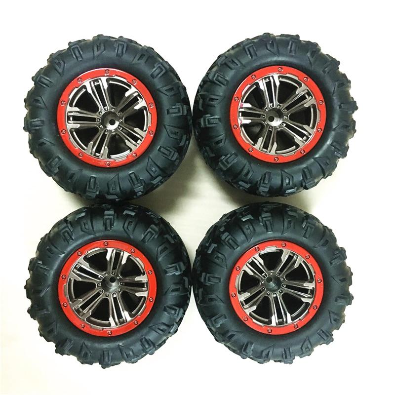 4 шт./лот RC автомобильные шины для XLH Xinlehong 9125 1/10 RC гоночный автомобиль части резиновые шины 5-ZJ02 Xinlehong 9125 шины