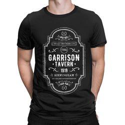 Peaky blinders thomas shelby a guarnição t camisas masculinas 1919 camiseta vintage manga curta gola redonda 5xl camisetas de algodão