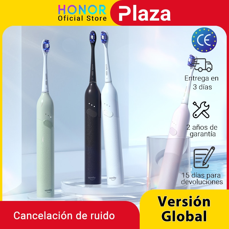 Honor Choice Usmile Sonic Electric Toothbrush P10013 Mode Type-c Charger Rechargeable Tooth Brushes Replacement Heads Set