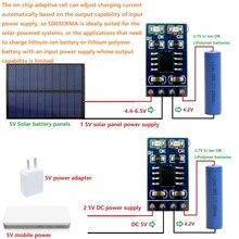 2x 1A 4,2 V 3,7 V Li-Ion Li-Po Lithium-Batterie Multifunktions Ladegerät MPPT Solar Controller Modul für Solar panel mobile power USB