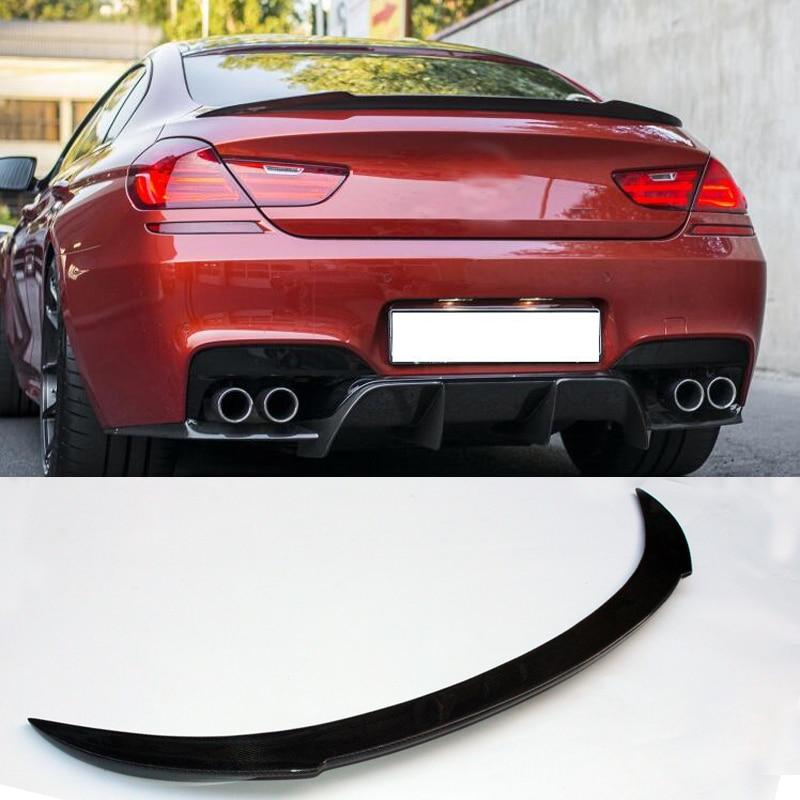 V стиль багажник спойлер из углеродного волокна для BMW F06 F12 M6