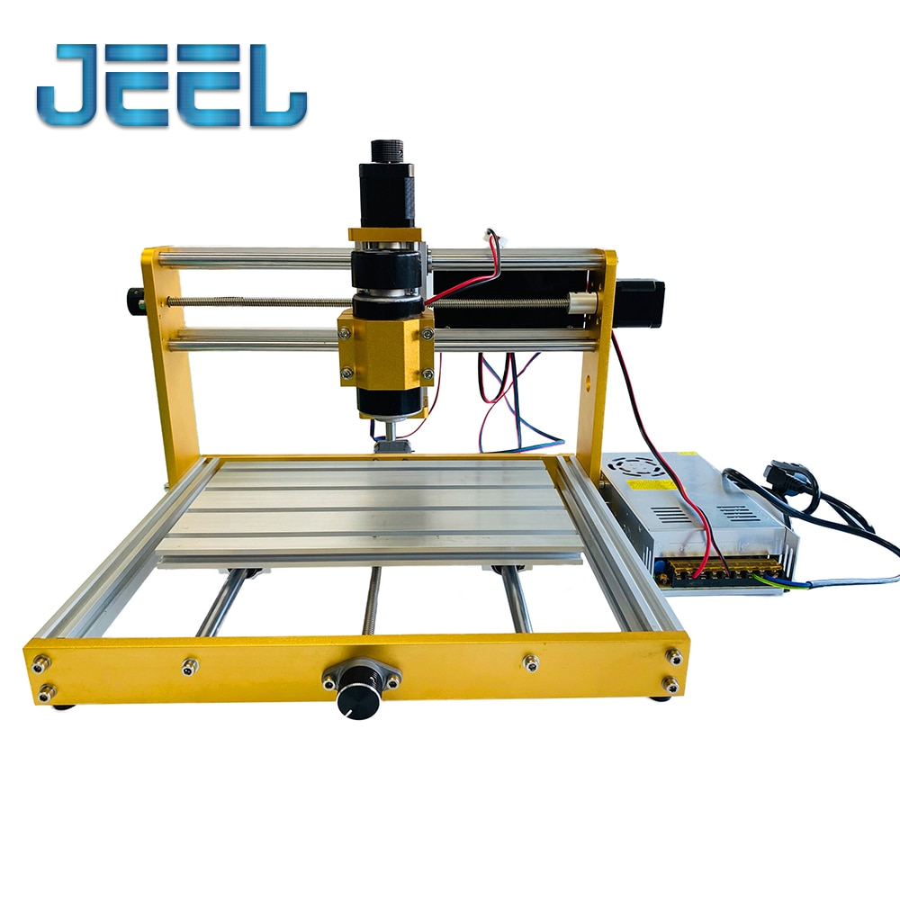 CNC Update 30*18 Plus 500W/300W Spindle Kit Apply Nema17/23 Stepper 52mm Spindle CNC Wood Router,Pcb Milling Machine enlarge