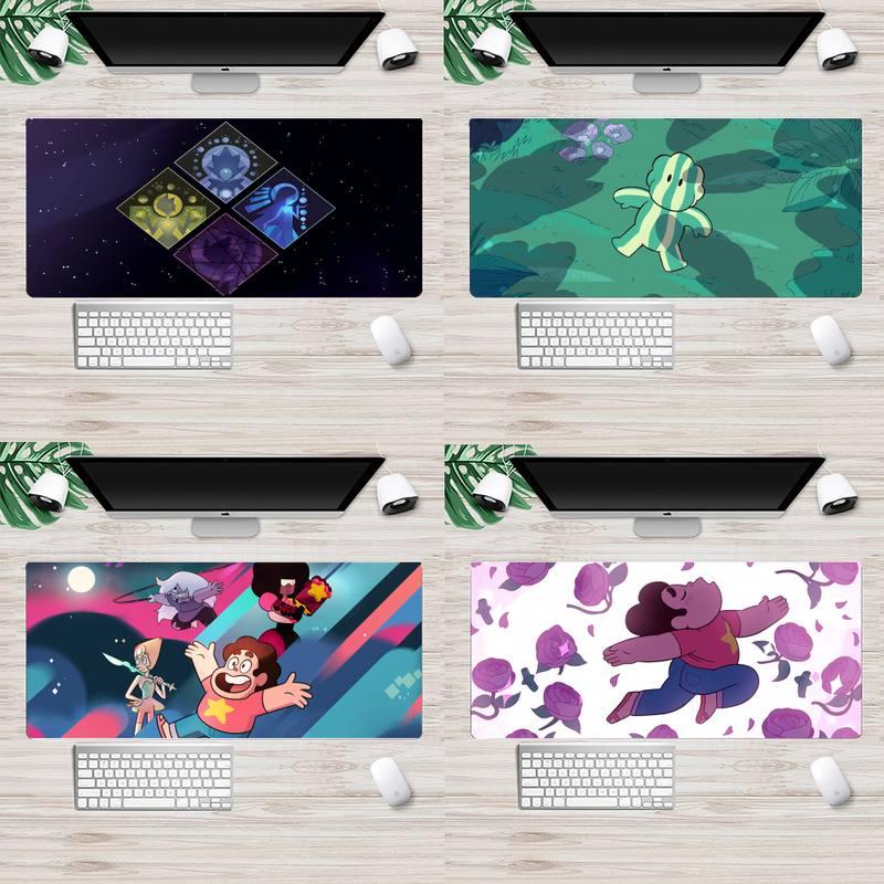 Коврик для клавиатуры steven universe, резиновый коврик для мыши, Настольный коврик, анимация, XL, большой игровой коврик для клавиатуры, настольног...