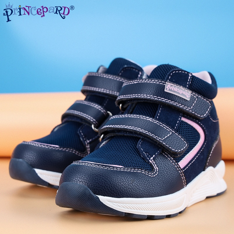 Princepard Comfortable Fashion Autumn Kids Children Sports Orthopedic Shoes Corrective Walking Shoes For Babies enlarge