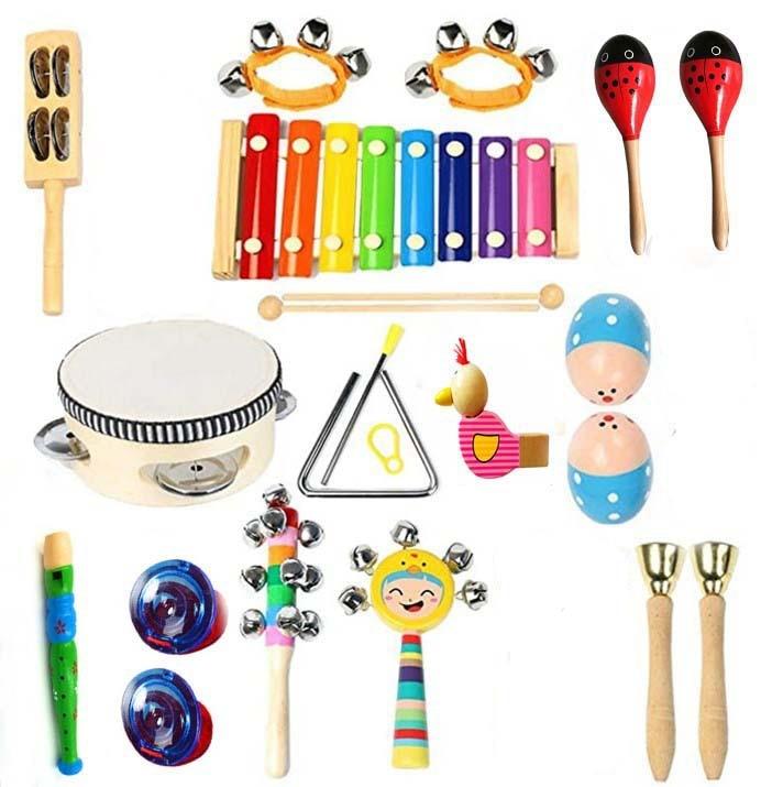 conjunto de brinquedo musical para criancas 13 em 1 instrumentos musicais para criancas