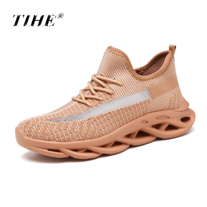 2019 léger doux garder chaussures de course pour hommes coussin dair chaussures de Sport respirant Air maille à lacets marche Jogging chaussures dathlétisme