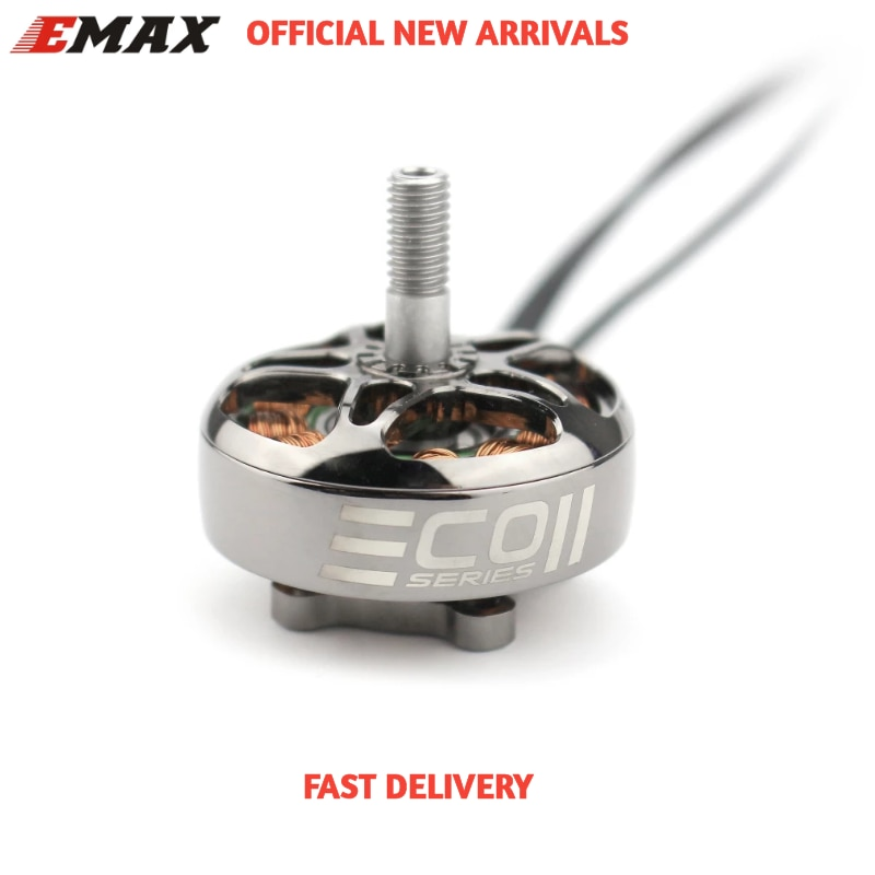 Gift In Stock Newest Emax Official ECO II Series 2807 1300KV 1700KV 1500KV Brushless Motor for RC Drone FPV Racing