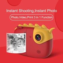 Écran tactile enfants caméra cadeau de noël bébé impression instantanée caméra pour enfants 1080P HD avec Photo thermique papier jouets pour la naissance