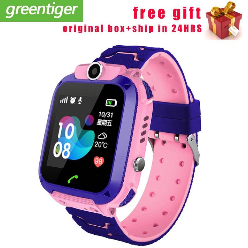 Reloj inteligente KG10 para niños, reloj inteligente resistente al agua, con música, reloj para niños y niñas