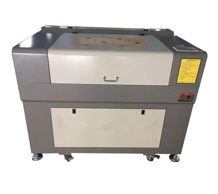 960 Laser gravure Machine prix CO2 80W 6090 Laser graveur pour lindustrie de la publicité acrylique gravure sur bois Cutter avec Ruida