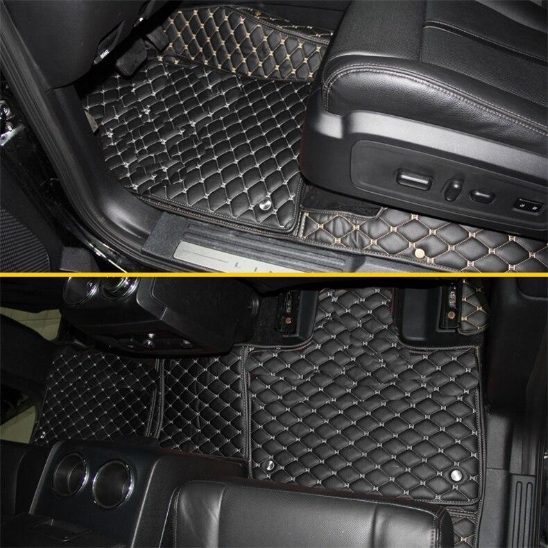 Coches de lujo alfombras de piso para lincoln navigator 2018, 2019, 2020