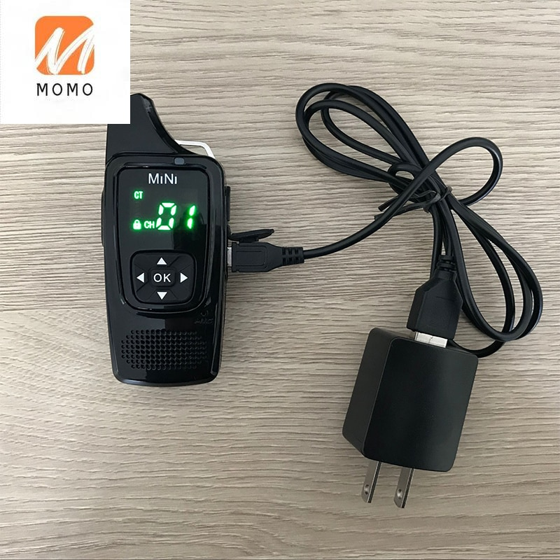مذياع صغير تخاطب HF PMR446, estación دي راديو cb, الترا pequeño, comunicador, ترانسيبتور, الأذنين gratuitos, 2 uds.
