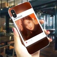 Housse de téléphone rigide pour filles Everglow KPOP pour iPhone 8 Plus 6 6S XR Xs Max X 7 5 S 5 SE 11 Pro