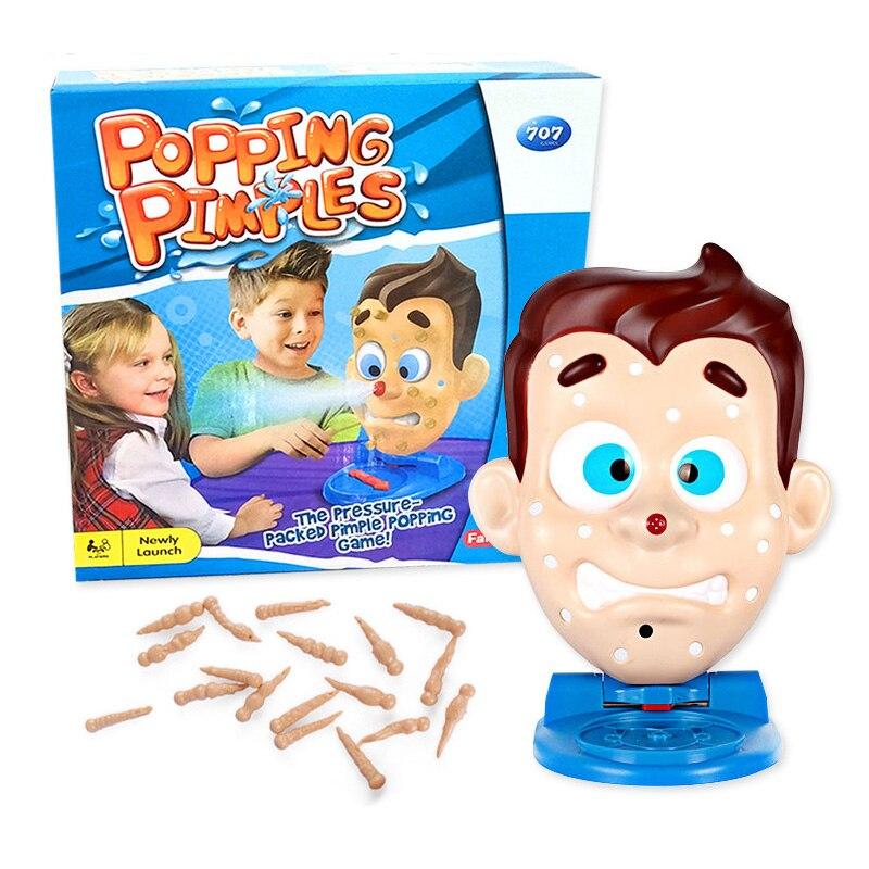 Juguetes divertido y engañoso juguetes para el acné, juguetes para niños, juegos de mesa para padres e hijos, novedosos juegos de fiesta, juguetes para niños, regalo