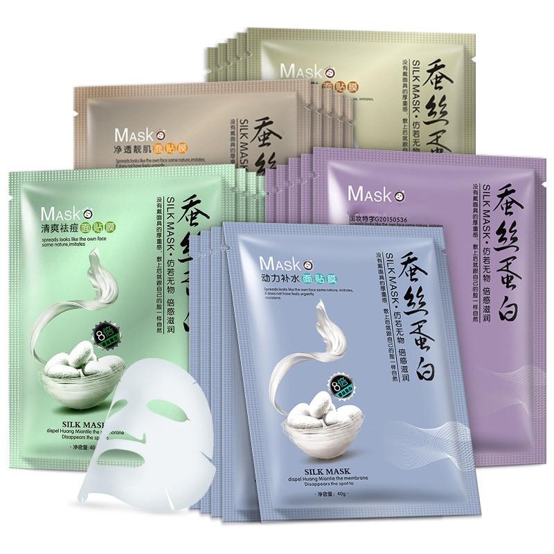 Moisturizing Mask Oil-controlling Silk Hyaluronic Acid Single-piece