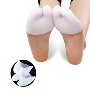 Ultra-Soft Silicone Invisible Toe Sleeve Foot Protection Ballet Shoe High Heels Toe Pads Gel Protective Foot Care Tool Z28401