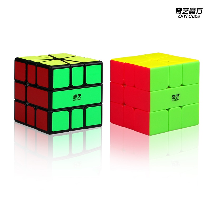 El más nuevo Qiyi Qifa SQ-1 cubo mágico rompecabezas cuadrado 1 cubos de rompecabezas SQ1 XMD cubos de velocidad Twisty aprendizaje juguetes educativos para niños Juego