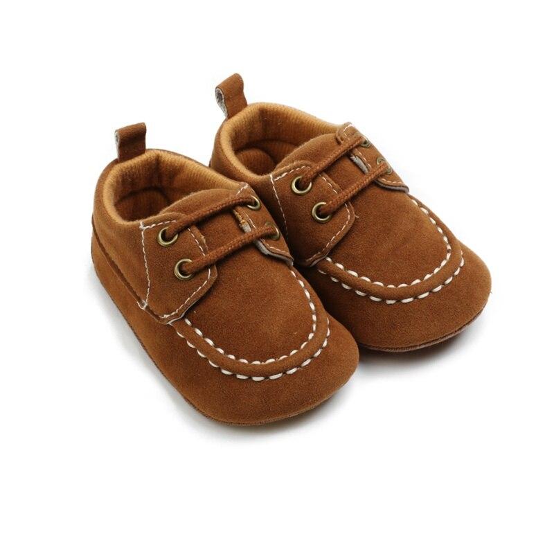 Сезон осень-весна; Для маленьких мальчиков; Обувь для новорожденных мальчиков кожаная обувь из флока мокасины; Первые шаги малыша; На возрас...