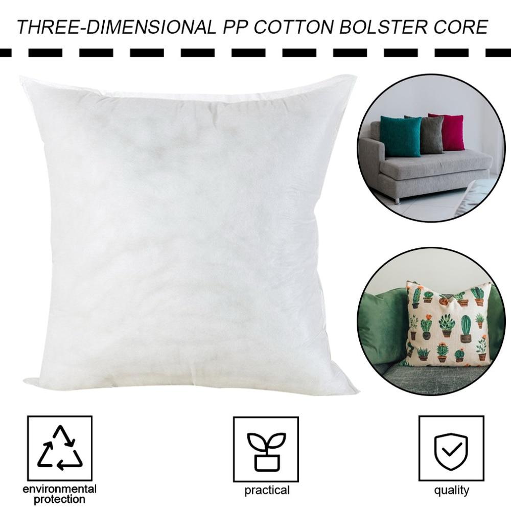 PP Cotton Pillow Core Cushion Cute Pattern Filled Plush Toy Pillow Activity Gift Pillow Decoration Waist Back Inner Pillow