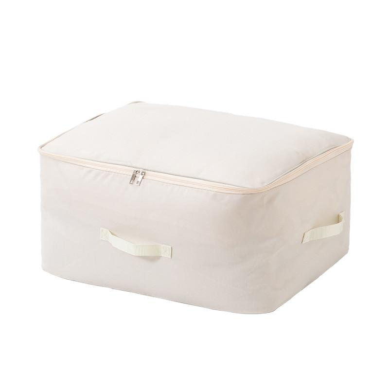 سعة كبيرة حقيبة التخزين قابلة للطي حقيبة يد غطاء غبار تخزين ملابس حقيبة التخزين قفل بسحّاب طازج وبسيط Bolsa De almacالمينا iento A