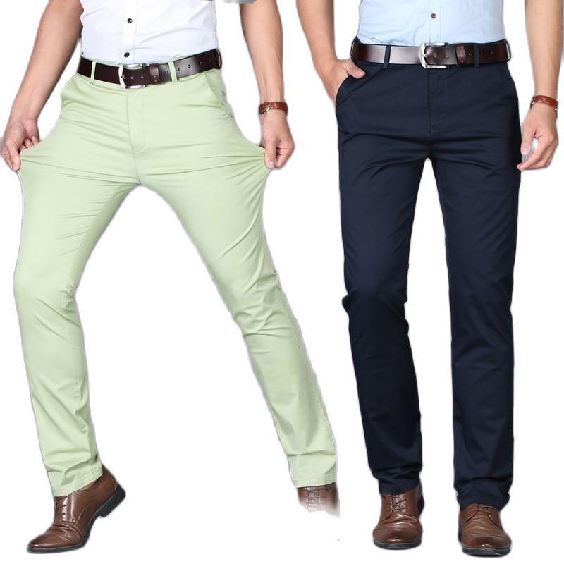 Pantalones de oficina de alta calidad para hombre, pantalón formales, vestido de...
